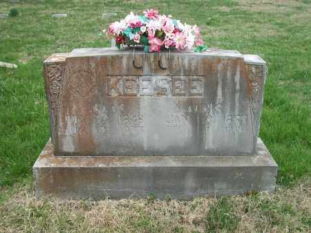 "MAGNESS KEESEE, ANNIS ""ANNIE"" - Marion County, Arkansas 