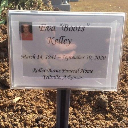 "KELLEY, EVA ""BOOTS"" - Marion County, Arkansas | EVA ""BOOTS"" KELLEY - Arkansas Gravestone Photos"