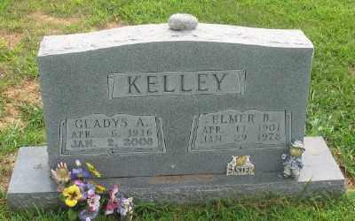 KELLEY, GLADYS A. - Marion County, Arkansas   GLADYS A. KELLEY - Arkansas Gravestone Photos