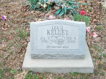 KELLEY, LEX J. - Marion County, Arkansas | LEX J. KELLEY - Arkansas Gravestone Photos