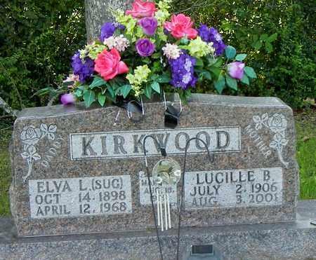 KIRKWOOD, LUCILLE B - Marion County, Arkansas | LUCILLE B KIRKWOOD - Arkansas Gravestone Photos