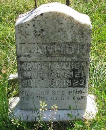 LAWHON, ARVEL - Marion County, Arkansas   ARVEL LAWHON - Arkansas Gravestone Photos