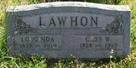 LAWHON, LOUCINDA - Marion County, Arkansas | LOUCINDA LAWHON - Arkansas Gravestone Photos