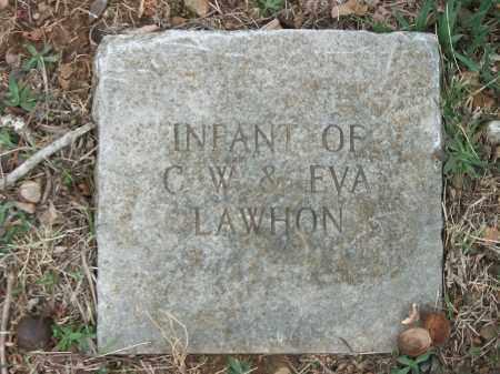 LAWHON, INFANT - Marion County, Arkansas | INFANT LAWHON - Arkansas Gravestone Photos