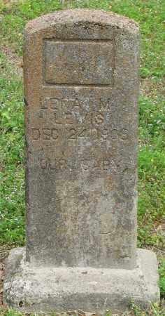 LEWIS, LENA M. - Marion County, Arkansas | LENA M. LEWIS - Arkansas Gravestone Photos