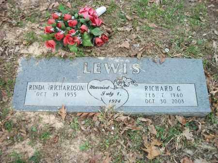 LEWIS, RICHARD G. - Marion County, Arkansas | RICHARD G. LEWIS - Arkansas Gravestone Photos