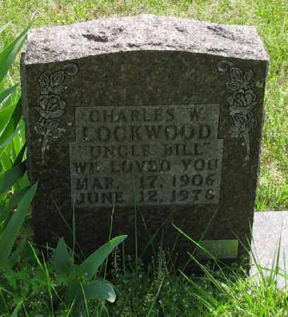LOCKWOOD, CHARLES W. - Marion County, Arkansas | CHARLES W. LOCKWOOD - Arkansas Gravestone Photos