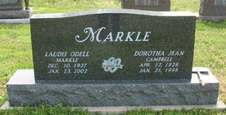 CAMPBELL MARKLE, DOROTHA JEAN - Marion County, Arkansas | DOROTHA JEAN CAMPBELL MARKLE - Arkansas Gravestone Photos