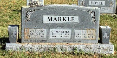 MARKLE, E. G. - Marion County, Arkansas | E. G. MARKLE - Arkansas Gravestone Photos