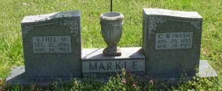 WAGGONER MARKLE, ETHEL M. - Marion County, Arkansas | ETHEL M. WAGGONER MARKLE - Arkansas Gravestone Photos