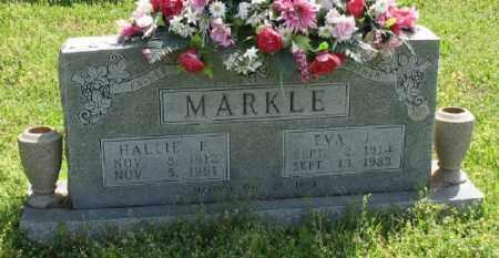 MARKLE, HALLIE E. - Marion County, Arkansas | HALLIE E. MARKLE - Arkansas Gravestone Photos