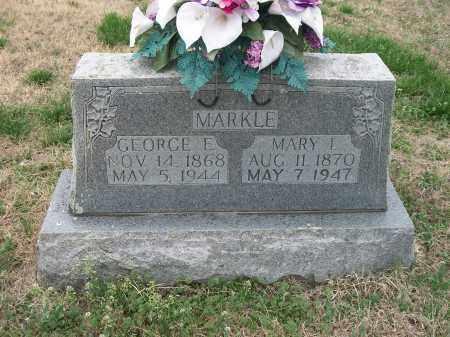 MARKLE, MARY ISABEL - Marion County, Arkansas   MARY ISABEL MARKLE - Arkansas Gravestone Photos