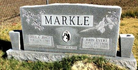 MARKLE, JOHN EVERT - Marion County, Arkansas | JOHN EVERT MARKLE - Arkansas Gravestone Photos