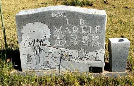 MARKLE, L. D. - Marion County, Arkansas | L. D. MARKLE - Arkansas Gravestone Photos