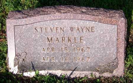 MARKLE, STEVEN WAYNE - Marion County, Arkansas | STEVEN WAYNE MARKLE - Arkansas Gravestone Photos
