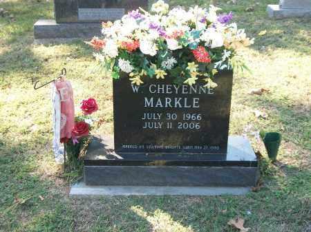 MARKLE, WADE CHEYENNE - Marion County, Arkansas | WADE CHEYENNE MARKLE - Arkansas Gravestone Photos