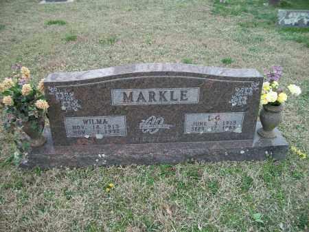 MARKLE, WILMA - Marion County, Arkansas | WILMA MARKLE - Arkansas Gravestone Photos