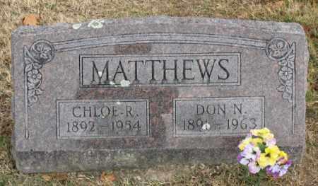 MATTHEWS, DON NEWTON - Marion County, Arkansas   DON NEWTON MATTHEWS - Arkansas Gravestone Photos