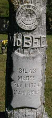 MCBEE, SILAS - Marion County, Arkansas | SILAS MCBEE - Arkansas Gravestone Photos