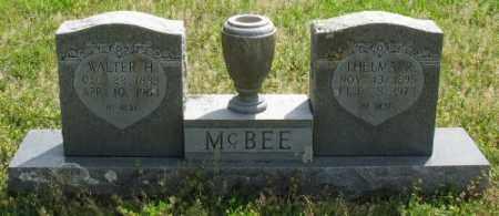 MCBEE, WALTER H. - Marion County, Arkansas | WALTER H. MCBEE - Arkansas Gravestone Photos