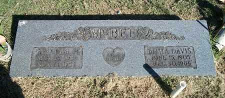MCBEE, WILLIAM H. - Marion County, Arkansas | WILLIAM H. MCBEE - Arkansas Gravestone Photos