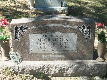 MCCRACKEN, ARLIE RAY - Marion County, Arkansas   ARLIE RAY MCCRACKEN - Arkansas Gravestone Photos