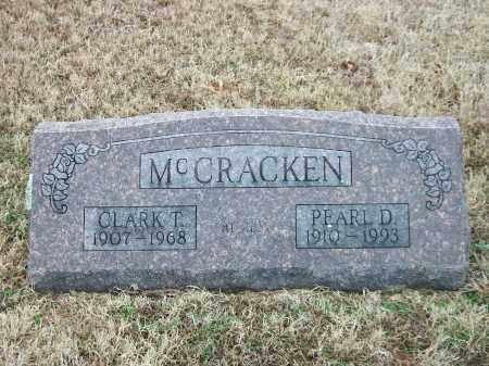 MCCRACKEN, PEARL DEE - Marion County, Arkansas | PEARL DEE MCCRACKEN - Arkansas Gravestone Photos
