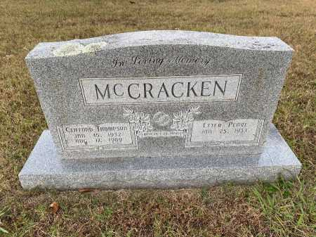 MCCRACKEN, CLIFFORD THOMPSON - Marion County, Arkansas | CLIFFORD THOMPSON MCCRACKEN - Arkansas Gravestone Photos