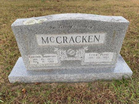 MCCRACKEN, ETTER PEARL - Marion County, Arkansas   ETTER PEARL MCCRACKEN - Arkansas Gravestone Photos