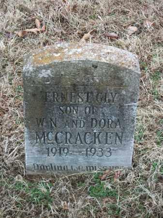 MCCRACKEN, ERNEST GLY - Marion County, Arkansas | ERNEST GLY MCCRACKEN - Arkansas Gravestone Photos