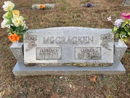 MCCRACKEN, GEORGE - Marion County, Arkansas   GEORGE MCCRACKEN - Arkansas Gravestone Photos