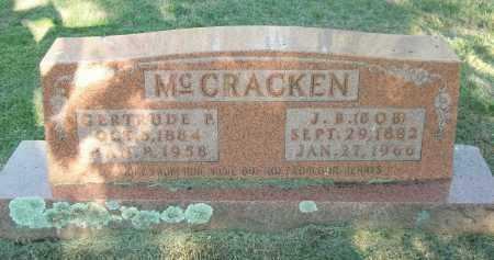 MCCRACKEN, GERTRUDE P. - Marion County, Arkansas | GERTRUDE P. MCCRACKEN - Arkansas Gravestone Photos