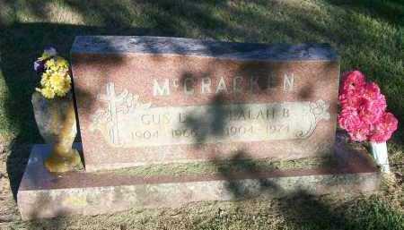 MCCRACKEN, GUS LEONARD - Marion County, Arkansas | GUS LEONARD MCCRACKEN - Arkansas Gravestone Photos