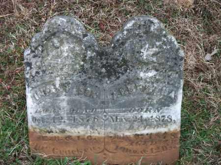 MCCRACKEN, INFANT SON - Marion County, Arkansas | INFANT SON MCCRACKEN - Arkansas Gravestone Photos
