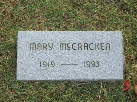 MCCRACKEN, MARY - Marion County, Arkansas | MARY MCCRACKEN - Arkansas Gravestone Photos