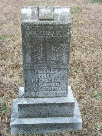 """MCCRACKEN, MARY E. """"MOLLIE"""" - Marion County, Arkansas   MARY E. """"MOLLIE"""" MCCRACKEN - Arkansas Gravestone Photos"""