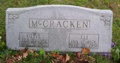MCCRACKEN, OLIVE OTEN - Marion County, Arkansas | OLIVE OTEN MCCRACKEN - Arkansas Gravestone Photos