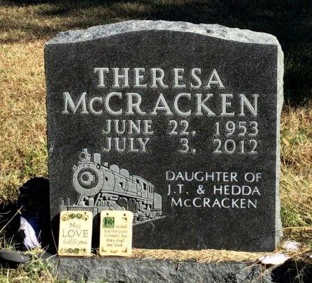 MCCRACKEN, THERESA - Marion County, Arkansas   THERESA MCCRACKEN - Arkansas Gravestone Photos