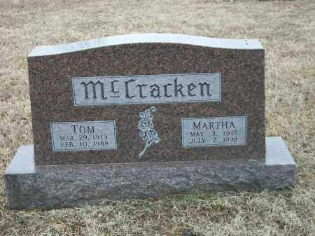 MCCRACKEN, TOM - Marion County, Arkansas | TOM MCCRACKEN - Arkansas Gravestone Photos