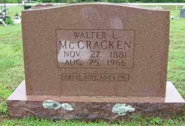 MCCRACKEN, WALTER L. - Marion County, Arkansas   WALTER L. MCCRACKEN - Arkansas Gravestone Photos