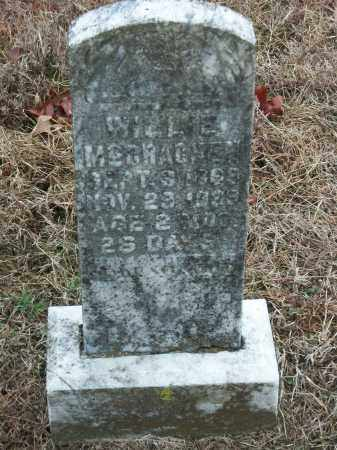 MCCRACKEN, WILLIE - Marion County, Arkansas | WILLIE MCCRACKEN - Arkansas Gravestone Photos