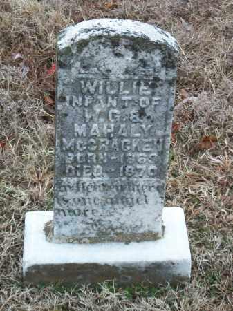 """MCCRACKEN, WILLIAM """"WILLIE"""" - Marion County, Arkansas   WILLIAM """"WILLIE"""" MCCRACKEN - Arkansas Gravestone Photos"""