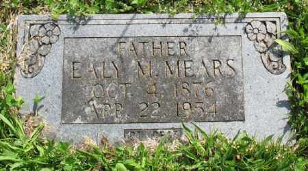 MEARS, EALY M. - Marion County, Arkansas | EALY M. MEARS - Arkansas Gravestone Photos