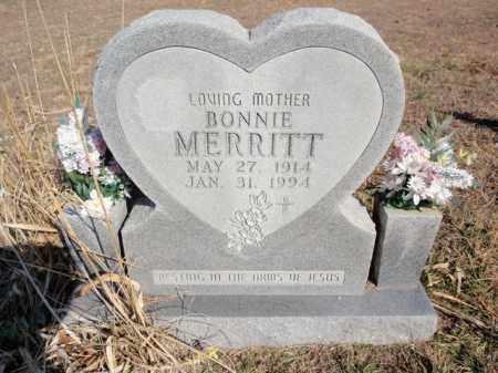 MERRITT, BONNIE - Marion County, Arkansas | BONNIE MERRITT - Arkansas Gravestone Photos