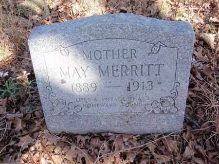 MERRITT, MAY - Marion County, Arkansas | MAY MERRITT - Arkansas Gravestone Photos