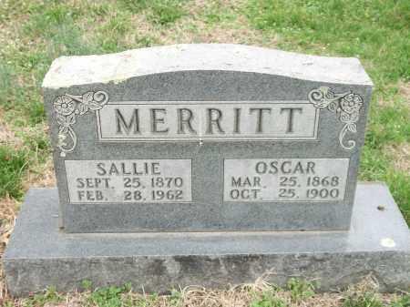 MERRITT, OSCAR - Marion County, Arkansas | OSCAR MERRITT - Arkansas Gravestone Photos