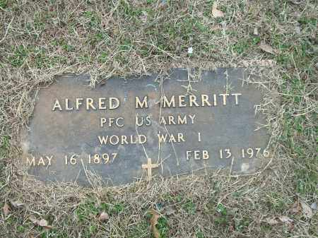 MERRITT (VETERAN WWI), ALFRED M. - Marion County, Arkansas | ALFRED M. MERRITT (VETERAN WWI) - Arkansas Gravestone Photos