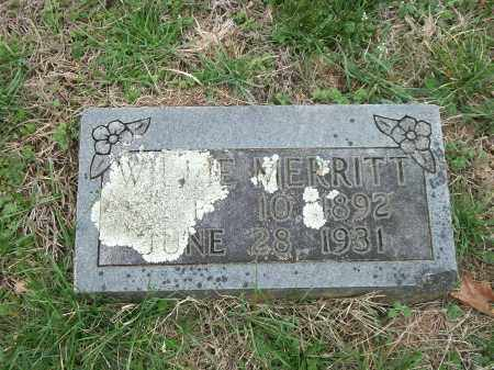 MERRITT, WILLIE - Marion County, Arkansas | WILLIE MERRITT - Arkansas Gravestone Photos