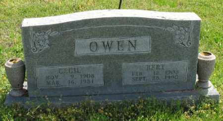 SAYLORS OWEN, CECIL - Marion County, Arkansas | CECIL SAYLORS OWEN - Arkansas Gravestone Photos