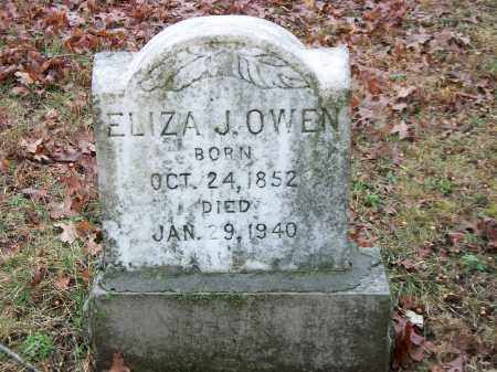 OWEN, ELIZA JANE - Marion County, Arkansas | ELIZA JANE OWEN - Arkansas Gravestone Photos